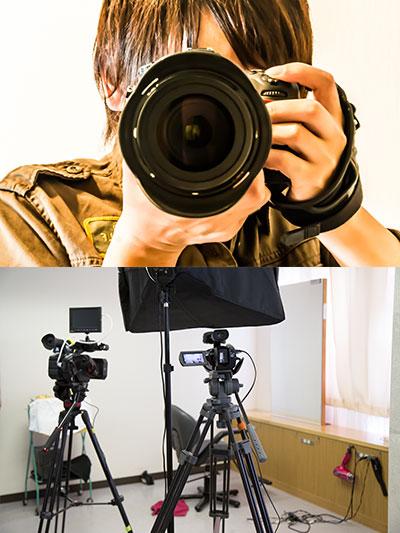 写真・ビデオ撮影編集